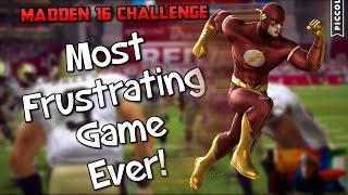 getlinkyoutube.com-THE INCREDIBLE FLASH JOINS THE NFL?? Madden 16 Superhero Challenge Series!