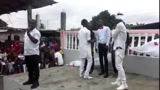 getlinkyoutube.com-Mariage de Kiki creole danseur de coupe decale et n'bobolo