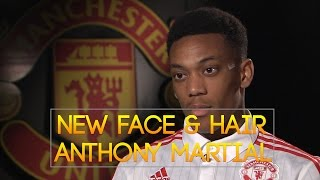 getlinkyoutube.com-New face and hair Anthony Martial 2016/2017 [PES 2013 by Radim Luca]