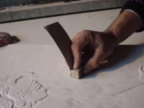 Come fare una scultura in gesso