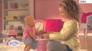 getlinkyoutube.com-Interaktywne akcesoria dla lalki Baby Born - Zapf - MGA - distri.pl