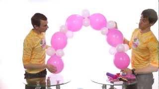 getlinkyoutube.com-Гирлянда из шаров своими руками. Урок 5