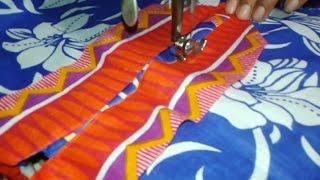 getlinkyoutube.com-Kurti neck cutting and stitching in hindi