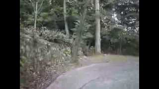 getlinkyoutube.com-多度山上公園から下り麓まで