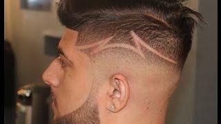 getlinkyoutube.com-Barber Tutorials| Undercut Fade Design |Comb Over Fade| by Zay The Barber