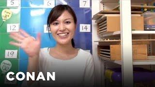 getlinkyoutube.com-Fan Correction: Andy Has Terrible Japanese Pronunciation! - CONAN on TBS