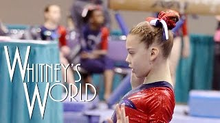 getlinkyoutube.com-Gymnastics Competition Hair Tutorial | Whitney