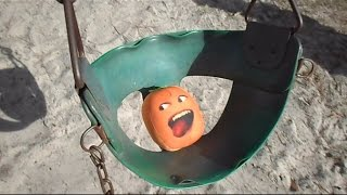 The Stupid Orange In Spin Swing Slide And Train