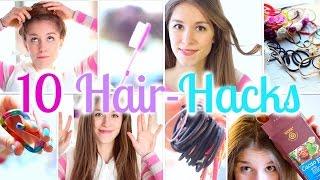 getlinkyoutube.com-10 HAIR HACKS - einfach und schnell ♡ BarbieLovesLipsticks (P)