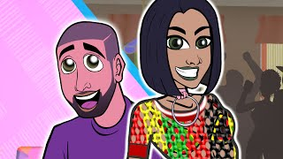 getlinkyoutube.com-Rihanna ft. Drake - Work (CARTOON PARODY)