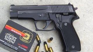 getlinkyoutube.com-Sig Sauer P226 - West Germany - Shooting This Excellent Handgun