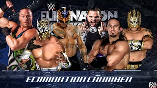 getlinkyoutube.com-WWE 2K16 - Rey Mysterio vs RVD vs Neville vs Kalisto vs Jeff Hardy vs Sin Cara - (PS4)