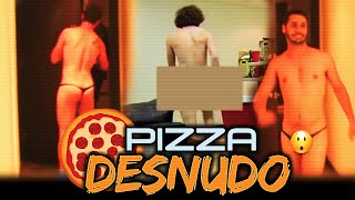 getlinkyoutube.com-► Pidiendo Pizza DESNUDO | Bromas Pesadas | Videos de Risa