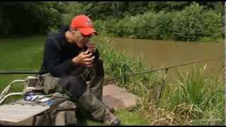 Ο Matt Hayes σε ένα σεμινάριο για ψάρεμα με την Εγγλέζικη τεχνική