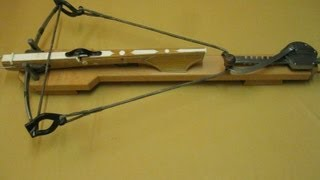 getlinkyoutube.com-Crossbow string hang - Armbrust Sehne auflegen