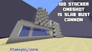 getlinkyoutube.com-100 Stacker Oneshot 15 Slab Bust - TNT Cannon Tutorial