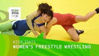 getlinkyoutube.com-Mayu Mukaida Women's 52Kg Freestyle Wrestling Gold - Highlights   Nanjing 2014 Youth Olympic Games
