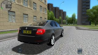 getlinkyoutube.com-City Car Driving 1.4.0 Škoda Octavia II [1080P]