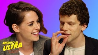 getlinkyoutube.com-Kristen Stewart And Jesse Eisenberg Talk About Weed And Things Get Weird