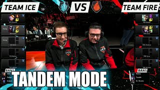 getlinkyoutube.com-Team Ice vs Team Fire | 10 vs 10 Tandem Mode Match LoL All-Stars 2015 LA | Fire vs Ice Tandem