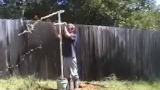 getlinkyoutube.com-DIY Well Drilling