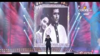 getlinkyoutube.com-Mirchi Music Awards 2013- Rajesh Khanna Hit songs With Sonu Nigam