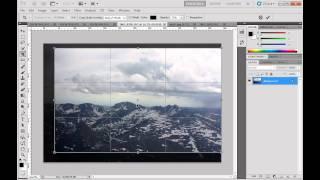 getlinkyoutube.com-Rotate, Crop, Straighten, and Transform an Image Using Photoshop CS5