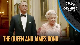 getlinkyoutube.com-James Bond and The Queen London 2012 Performance