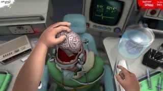 getlinkyoutube.com-SURGEON SIMULATOR 2013 - Brain Transplant w/ Razer Hydra