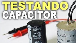 getlinkyoutube.com-Como testar capacitor com multímetro digital