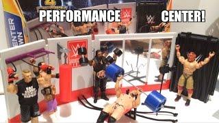 getlinkyoutube.com-WWE ACTION INSIDER: Training Center Takedown! Mattel Performance Center Wrestling Figure PlaySet