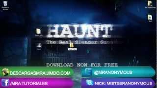 getlinkyoutube.com-Tutorial   Descargar Haunt The Real Slender Man Game JUEGO EN HD!!