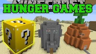 getlinkyoutube.com-Minecraft: BIKINI BOTTOM HUNGER GAMES - Lucky Block Mod - Modded Mini-Game