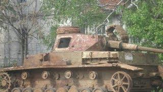 getlinkyoutube.com-Panzer Wrecks in Bulgaria