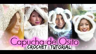 getlinkyoutube.com-Capucha de Osito | CROCHET TUTORIAL