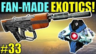 getlinkyoutube.com-Destiny: FAN-MADE EXOTICS! | SIVA GHOST! | Submit YOUR Exotic Idea! | Part 33