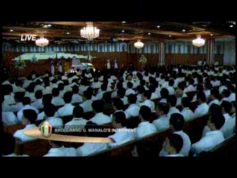 Bro. Eranio Manalo Funeral Part 01/17 (Complete Video)