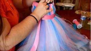getlinkyoutube.com-How To Make a Tutu Dress