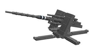 getlinkyoutube.com-Lego Flak-88 AA-Gun, WW2 Instructions
