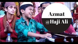 getlinkyoutube.com-Azmat Hussain before entering Saregamapa L'il Champs 2011   Cute Qawwal at Haji Ali Dargah