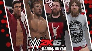 getlinkyoutube.com-WWE 2K16 - Daniel Bryan Entrance Evolution! ( WWE 12 to WWE 2K16 )