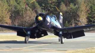 getlinkyoutube.com-Jim Tobul's F4U-4 Corsair - Without Announcers or Music- Monroe N.C. 11/8/13