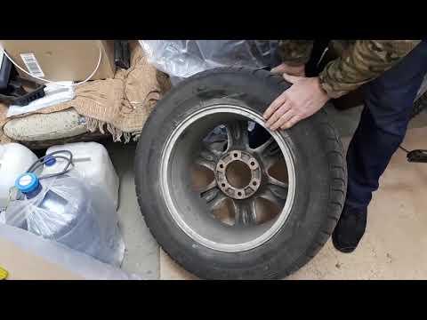 Комплект колес (Шины+Диски) от GW Hover (6x139,7 dia 90 R17)