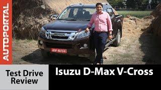 Isuzu D-Max V-Cross Test Drive Review - Autoportal