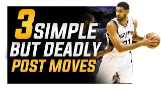 getlinkyoutube.com-3 Simple BUT Deadly Post Moves: Footwork For Centers and Power Forwards