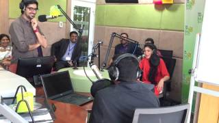 getlinkyoutube.com-Sai Pallavi in Hit fm studio. #malar