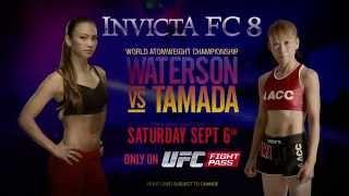Invicta FC 8 se podrá ver en directo en UFC Fight Pass