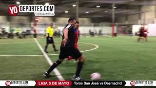 Toros San José vs Desmadrid Liga 5 de Mayo de Chicago