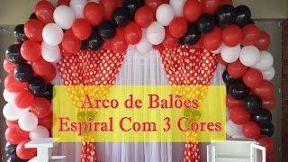 getlinkyoutube.com-ARCO DE BALÕES - COMO FAZER ARCO DE BALÕES ESPIRAL