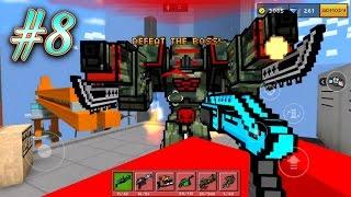 getlinkyoutube.com-ATTACK OF THE ROBOT! | Pixel Gun 3D Campaign #8